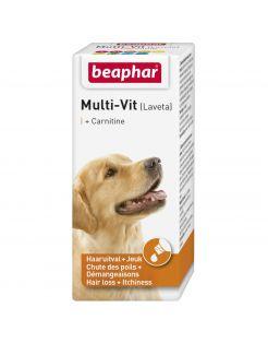 Beaphar Lavita Multi-Vit Hond - Voedingssupplement - Huid - Vacht - 20 ml