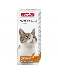 Beaphar Laveta Taurine Kat - Voedingssupplement - Huid - Vacht - 50 ml