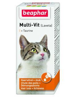 Beaphar Lavita Kat - Voedingssupplement - Huid - Vacht - 20 ml