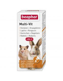 Beaphar Multi-Vitamine Knaagdier - Supplement - 20 ml