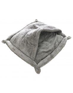 Adori Slaapzakje Modena - Kattenmand - 50x50 cm Grijs