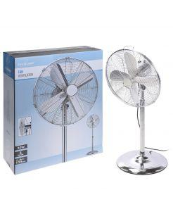 Homestyle Ventilator Staand Model - Statiefventilator - Ø40 cm Chroom