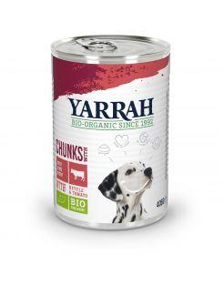 Yarrah Bio Hondenvoer Brokjes In Saus - Hondenvoer - Kip Rund 405 g