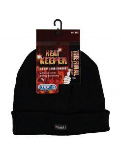 Heatkeeper Thermo Muts Wind- En Waterproof - Mutsen - Zwart One Size