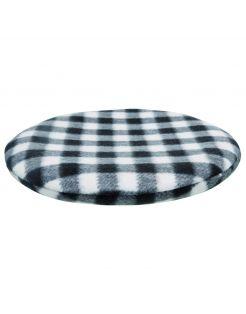 Trixie Warmtekussen Voor De Magnetron - Hondenverzorging - Ø 26 cm Zwart Wit