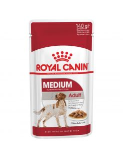 Royal Canin Medium Adult Natvoer - Hondenvoer - 10x140 g
