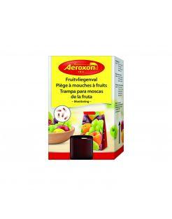 Aeroxon Fruitvliegenval - Insectenbestrijding - 90 x 47 x 140 mm