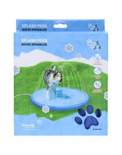 Coolpets Splash Pool Sproeier - Hondenverkoeling - 100 cm Lichtblauw
