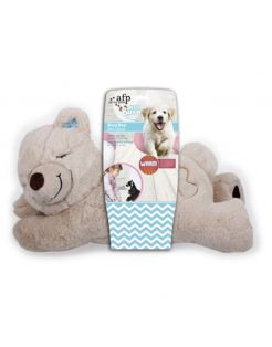 All For Paws Warm Bear - Hondenspeelgoed - 38x20x18 cm Bruin