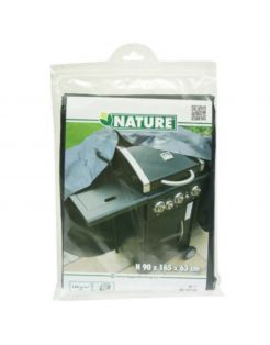 Nature Hoes Voor Gasbarbecue - Barbecue - 90x165x63 cm Grijs