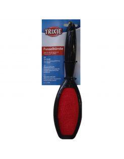 Trixie Pluizenborstel. Dubbelzijdig - Anti-haar borstel - Zwart Rood