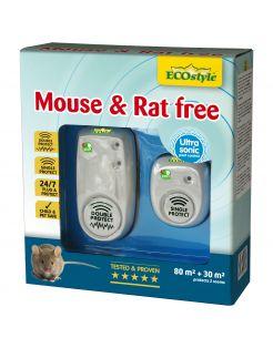 Ecostyle Mouse & Rat Free - Ongediertebestrijding - 80+30 m2 2 stuks