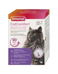 Beaphar Catcomfort Starterskit Compleet - Anti stressmiddel - Eend 48 ml Incl Diffuser