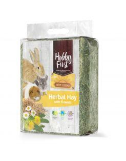 Hobbyfirst Hope Farms Herbal Hay With Flowers - Ruwvoer - 1 kg