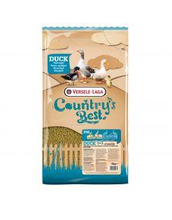 Versele-Laga Country`s Best Duck 1&2 Crumble Watervogels - Pluimveevoer - 5 kg Van 0 Weken