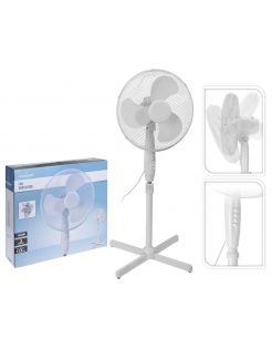 Homestyle Ventilator Staand Model - Statiefventilator - Ø40 cm Wit