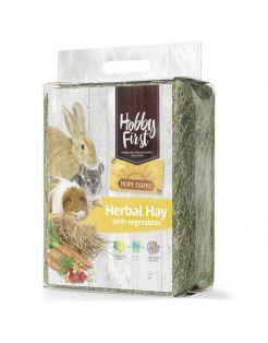 Hobbyfirst Hope Farms Herbal Hay With Vegetables - Ruwvoer - 1 kg