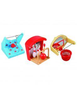 Flamingo Vogelspeelgoed Mini Games - Vogelspeelgoed - 9x11x8 cm Assorti