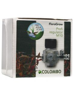Colombo Co2 Profi Drukregelaar M10 - Bemesting - Zilver