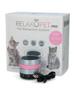 Relaxopet Pro Cat - Anti stresssysteem - 6.2X5.5 cm Metallic Roze
