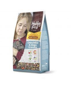 Hobbyfirst Hope Farms Chinchilla & Degu Granola - Chinchillavoer - 2 kg