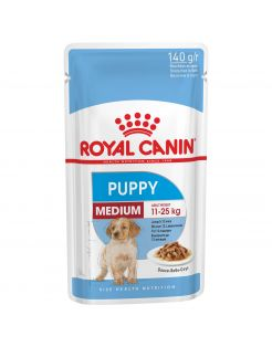 Royal Canin Medium Puppy Natvoer - Hondenvoer - 10x140 g
