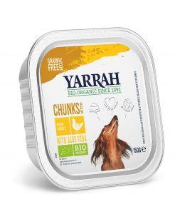 Yarrah Bio Hondenvoer Brokjes In Saus - Hondenvoer - Kip 150 g