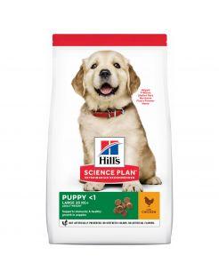 Hill's Canine Puppy Large Breed - Hondenvoer - Kip 12 kg