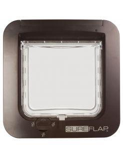 Sureflap Microchip Kattenluik - Kattenluik - 13x22x25 cm Bruin