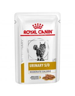 Royal Canin Veterinary Diet Urinary S/O Moderate Calorie Morsels Gravy Wet - Kattenvoer - 12x85 g