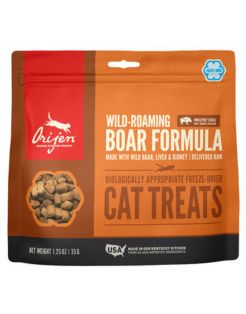 Orijen Cat Freeze-Dried Treats  Wild-Roaming - Kattensnack - Zwijn 35 g