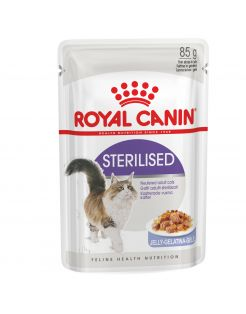 Royal Canin Sterilised In Jelly - Kattenvoer - 12x85 g