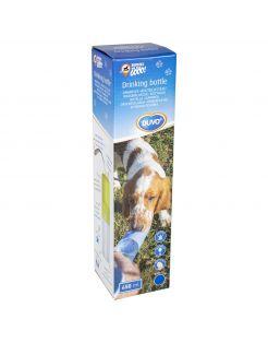 Duvo+ Drinkfles - Hondendrinkbak - 28.5x6.5x6.5 cm 450 ml Blauw