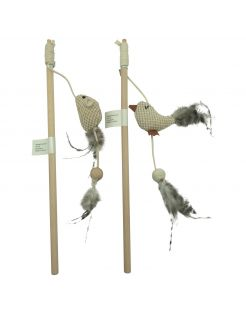 Adori Hengel Natural - Kattenspeelgoed - 36 cm Assorti