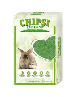 Chipsi Carefresh Forest Green - Bodembedekking - 14 l Groen