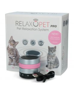 Relaxopet Pro Cat - Anti stresssysteem - 6.2X5.5 cm Metallic Roze