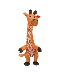 Kong Shakers Luvs Giraffe - Hondenspeelgoed - Oranje Large