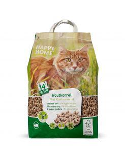 Happy Home Natural Houtkorrel - Kattenbakvulling - 10 l 5 kg