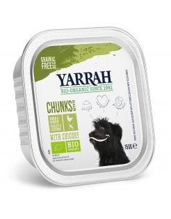 Yarrah Bio Hondenvoer Brokjes In Saus - Hondenvoer - Kip Groente 150 g