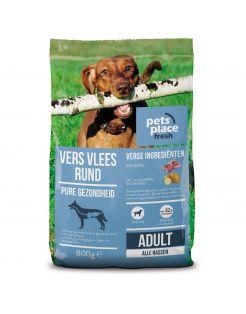 Pets Place Fresh Adult Fit Rund - Diepvriesvoer - 800 g