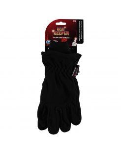 Heatkeeper Thermohandschoen Fleece - Handschoenen - Zwart S-M