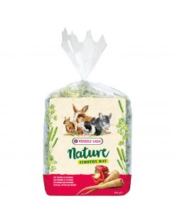 Versele-Laga Nature Timothy Hay - Ruwvoer - Paprika Pastinaak 500 g