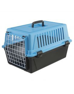 Ferplast Vervoersbox Atlas 10 - Hondentransportbox - 32.5x48x29 cm Lichtblauw