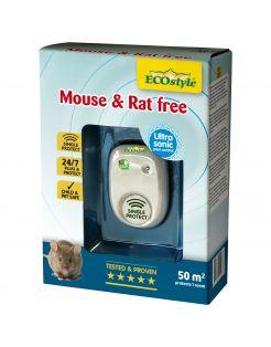 Ecostyle Mouse & Rat Free - Ongediertebestrijding - 50 m2
