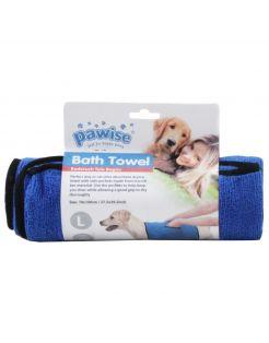 Pawise Bad Handdoek - Hondenverzorging - 70x100 cm Blauw
