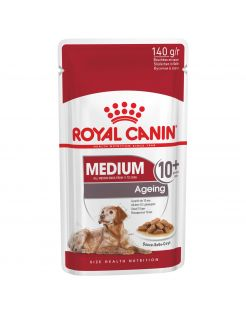 Royal Canin Medium Ageing 10+ Natvoer - Hondenvoer - 10x140 g