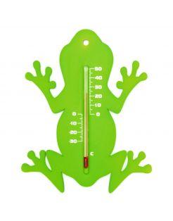 Nature Muurthermometer - Kikker - Thermometer - Groen