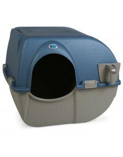 Omega Paw Zelfreinigende Kattenbak Large - Kattenbak - 51X55X47 cm Blauw