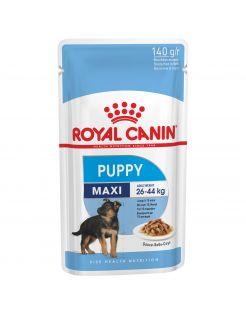 Royal Canin Maxi Puppy Natvoer - Hondenvoer - 10x140 g
