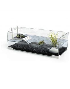 Ciano Waterschildpadden Tartarium  60 - Terraria - 60x29.6x22.5 cm Wit